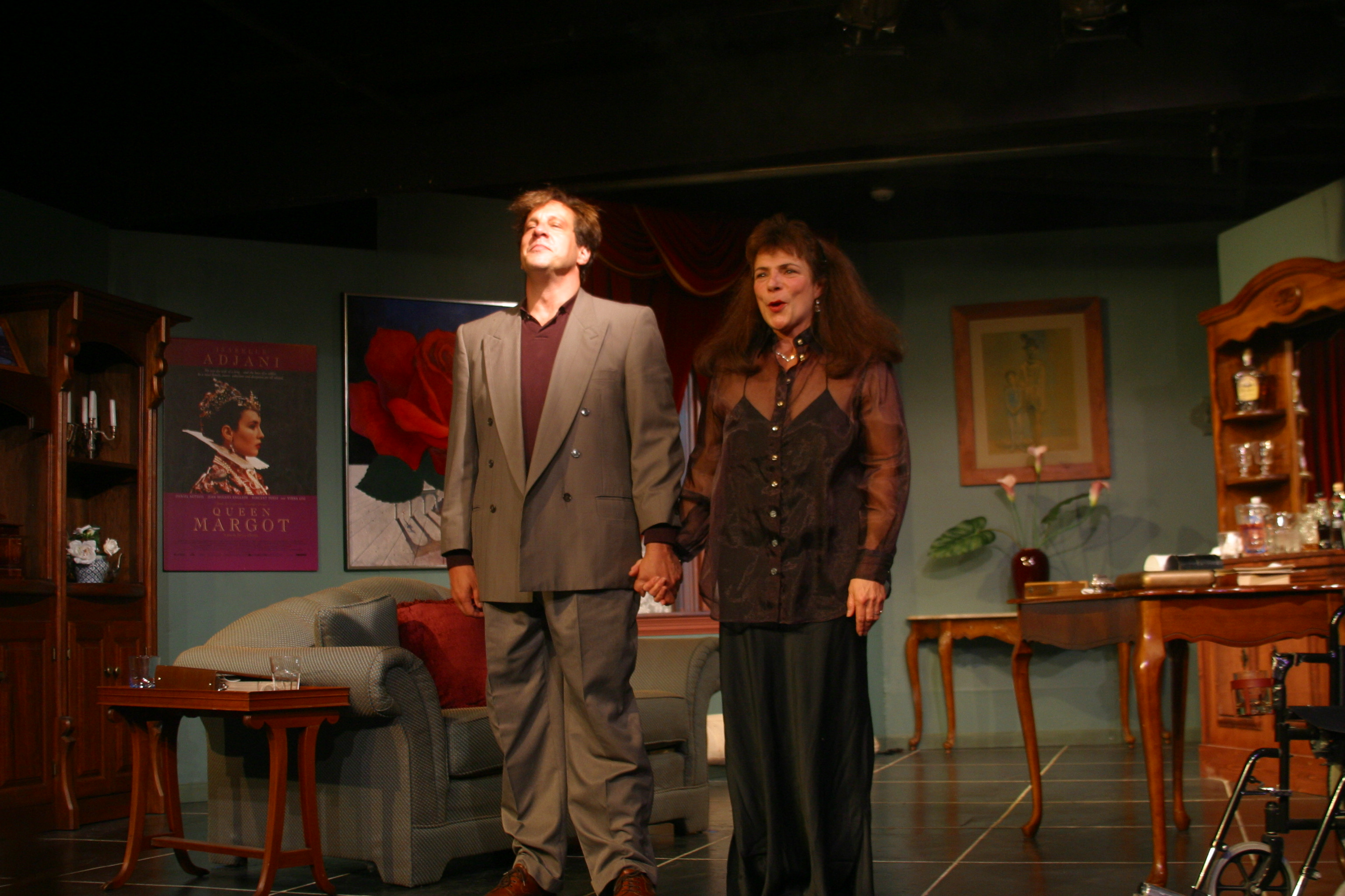 Carol Daly and James Brady