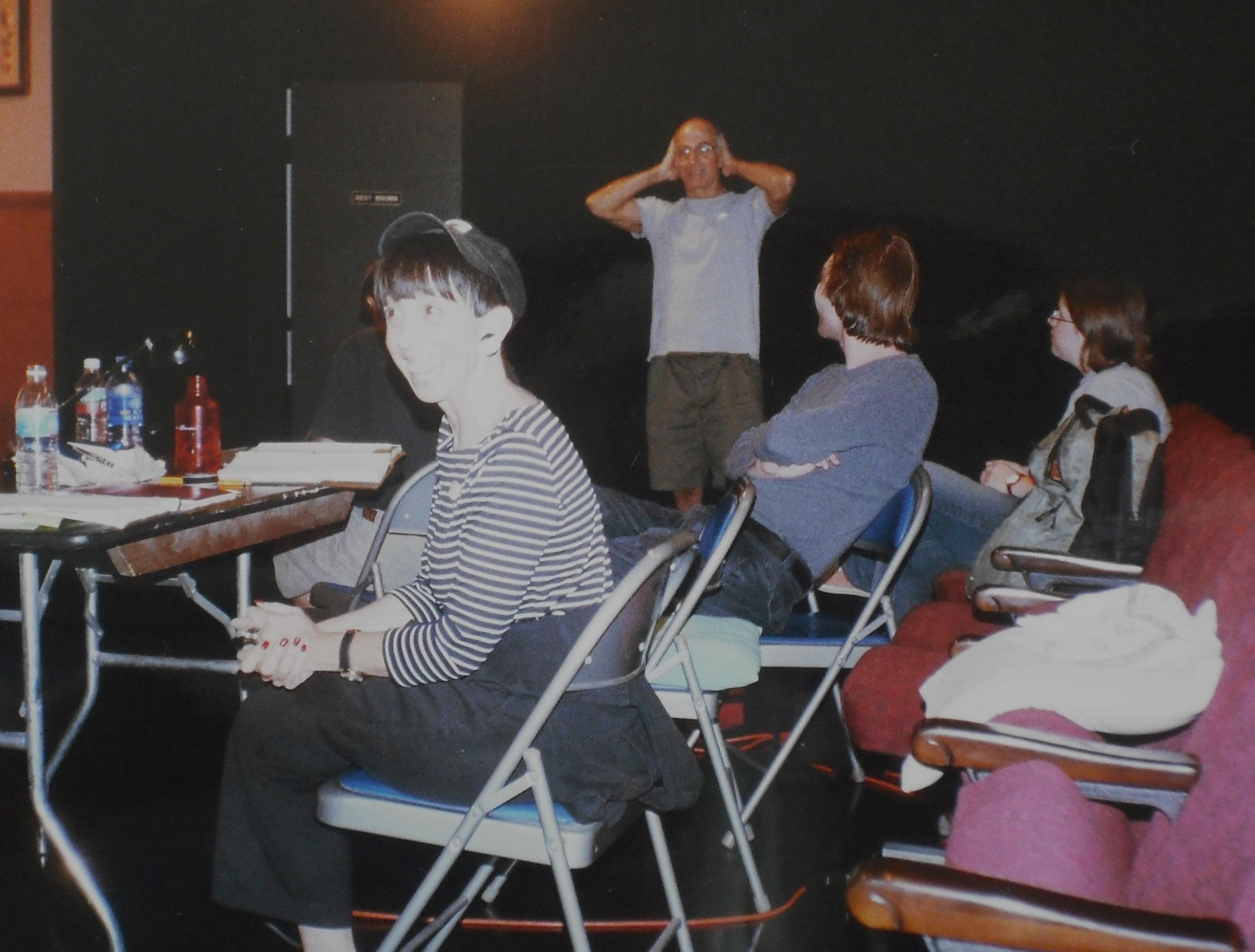 Susan Claasen In Rehearsal